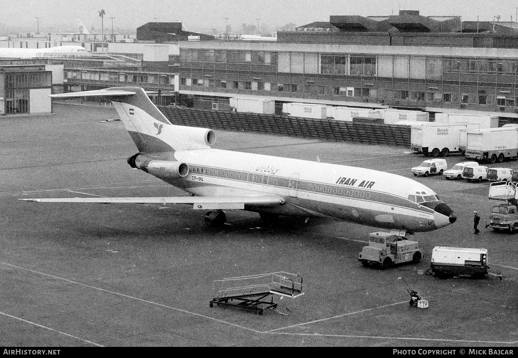 Aircraft Photo of EP-IRA | Boeing 727-86 | Iran Air | AirHistory.net