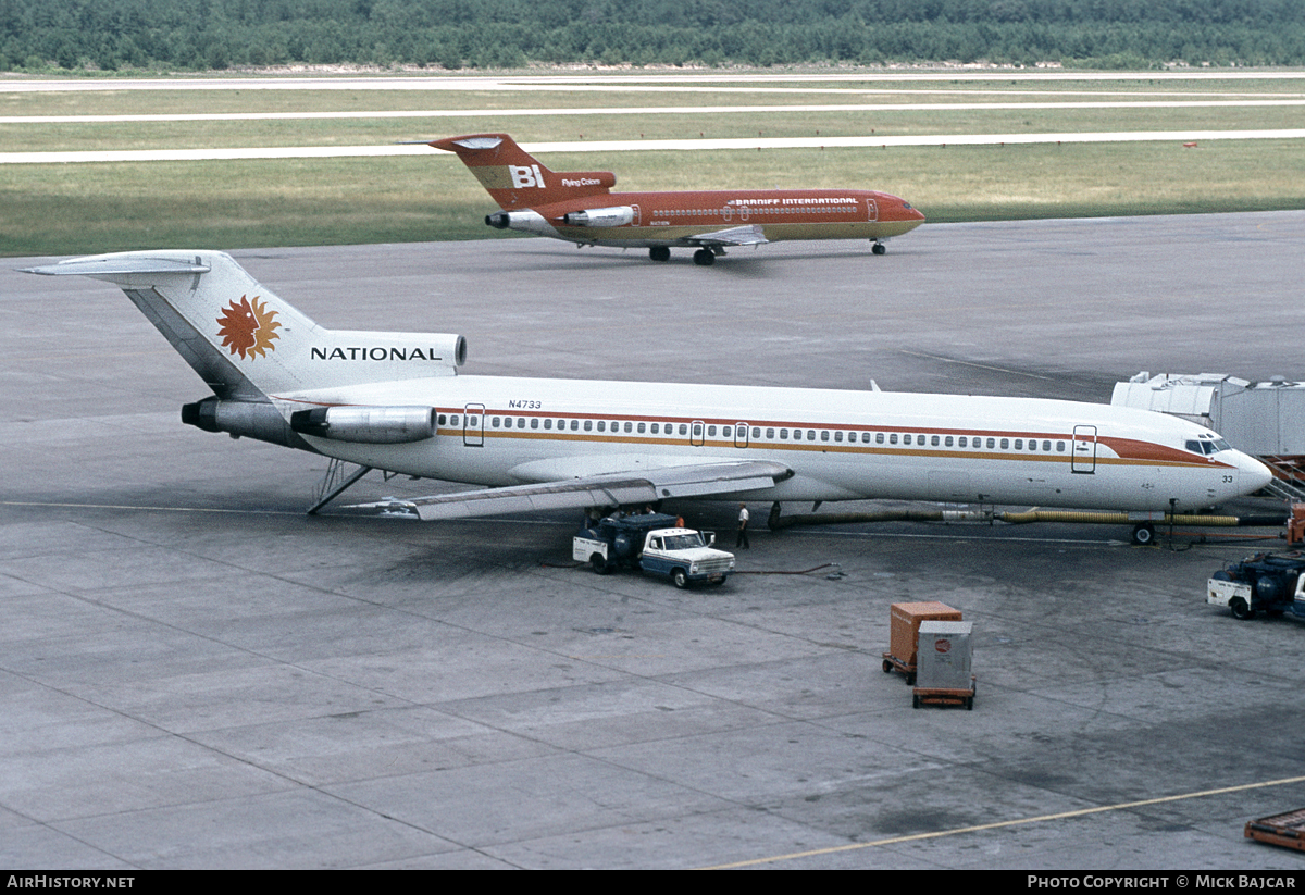 Aircraft Photo of N4733 | Boeing 727-235 | National Airlines | AirHistory.net #65