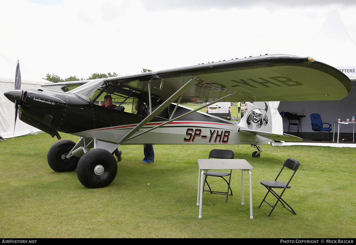 Aircraft Photo of SP-YHB | CubCrafters CCK-1865 Carbon Cub | AirHistory.net