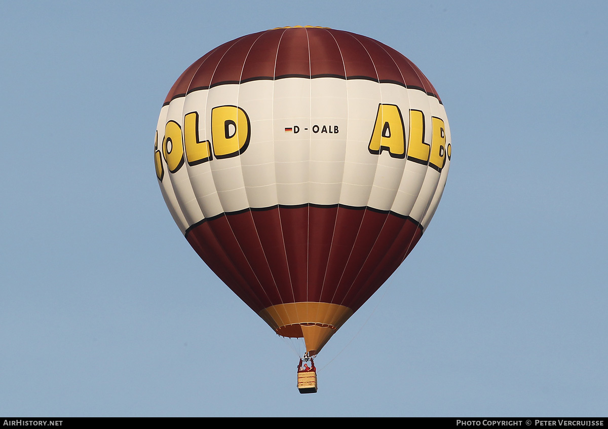 Aircraft Photo of D-OALB | Fire Balloons G32/24 | Alb-Gold | AirHistory.net