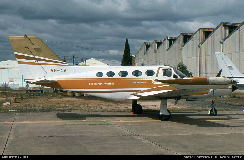 Aircraft Photo of VH-AAI | Cessna 421B Golden Eagle | Southbank Aviation | AirHistory.net #374