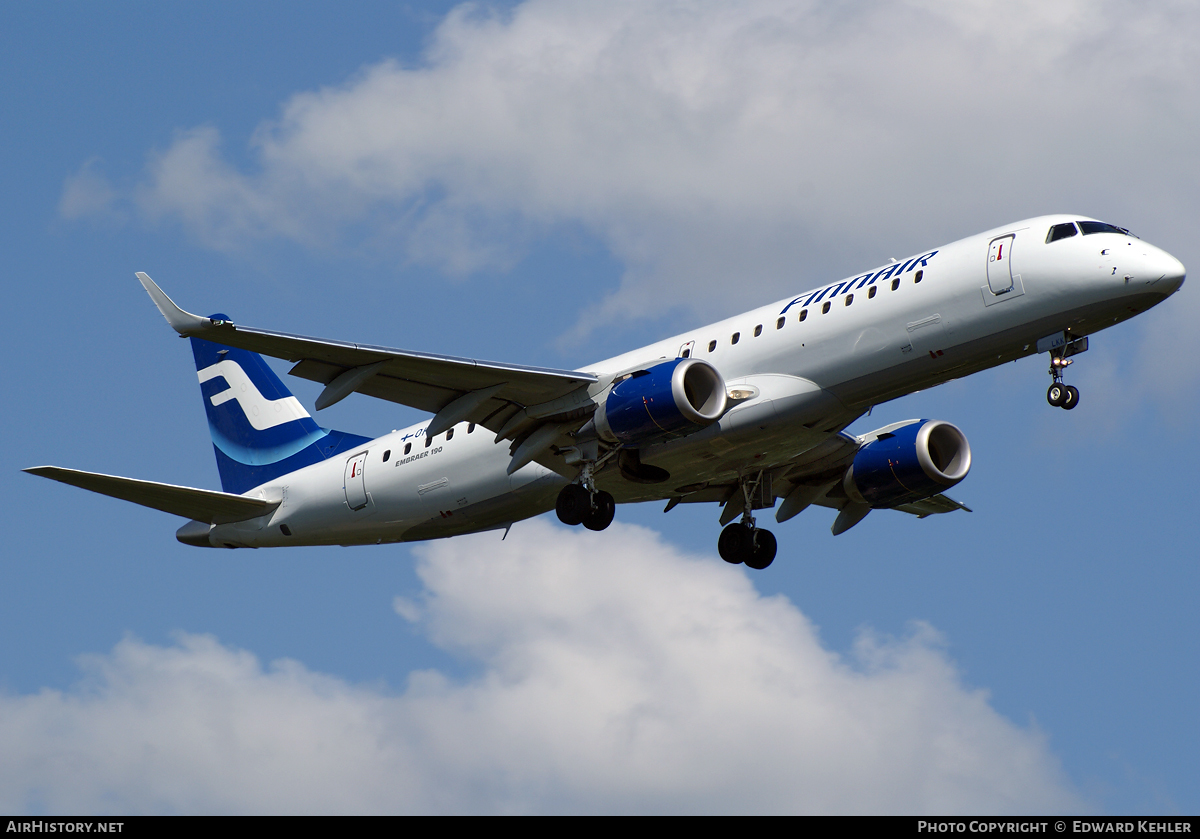 Aircraft Photo of OH-LKK | Embraer 190LR (ERJ-190-100LR) | Finnair | AirHistory.net #426