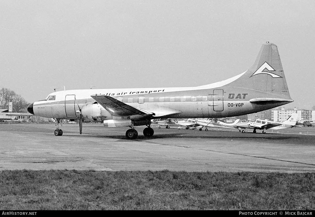Aircraft Photo of OO-VGP | Convair 440-62 Metropolitan | Delta Air Transport - DAT | AirHistory.net