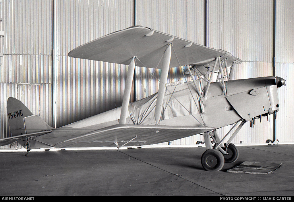 Aircraft Photo of VH-GWG | De Havilland D.H. 82A Tiger Moth | AirHistory.net #460