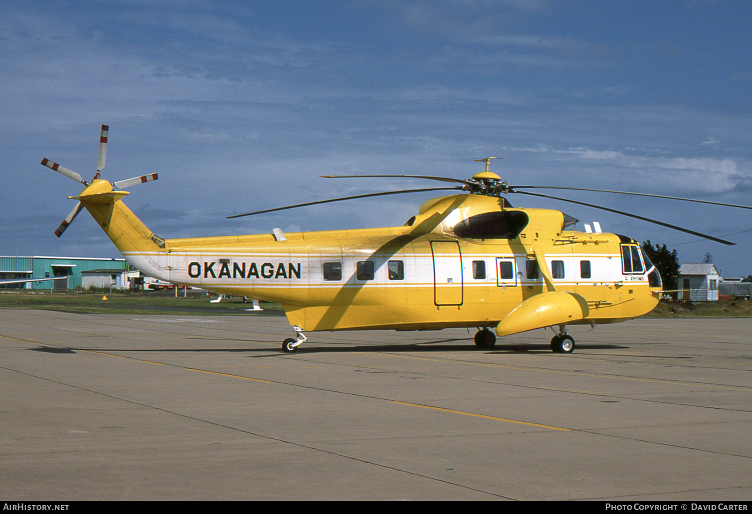 Aircraft Photo of VH-IMS | Sikorsky S-61N | Okanagan Helicopters | AirHistory.net