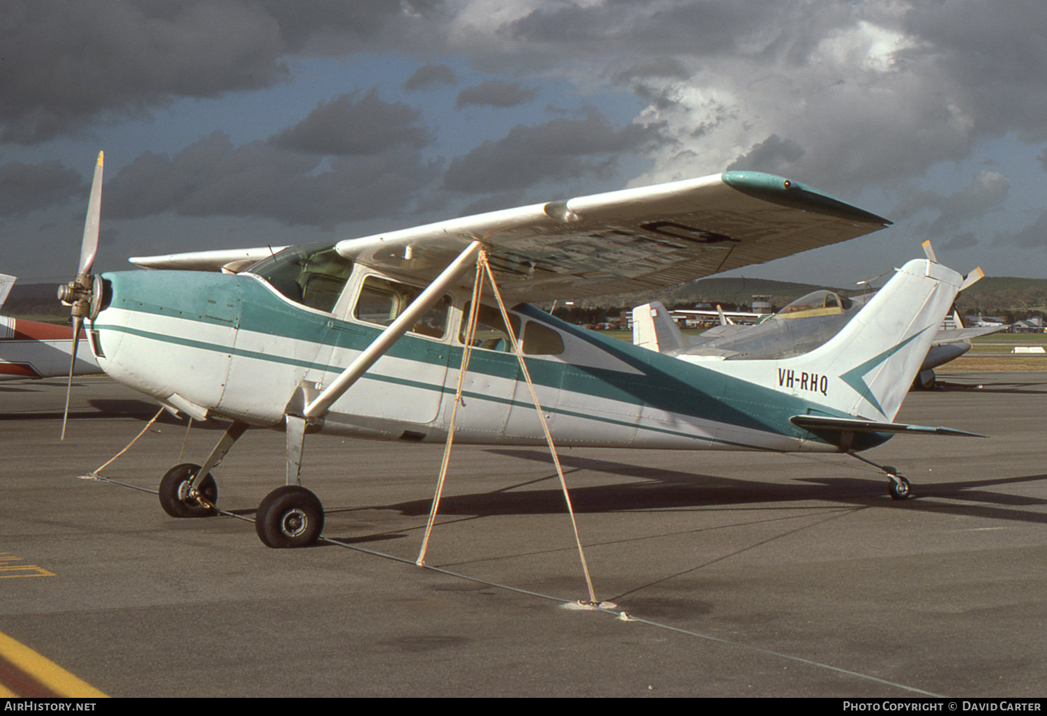 Aircraft Photo of VH-RHQ | Cessna 182D Skylane | AirHistory.net