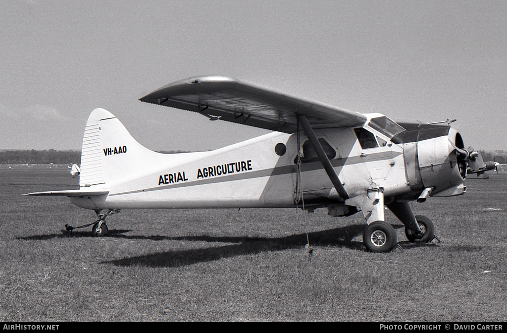 Aircraft Photo of VH-AAO | De Havilland Canada DHC-2 Beaver Mk1 | Aerial Agriculture | AirHistory.net