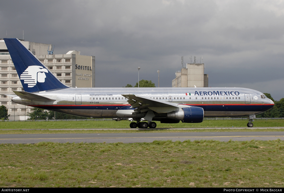 Aircraft Photo of XA-OAM | Boeing 767-2B1/ER | AeroMéxico | AirHistory.net