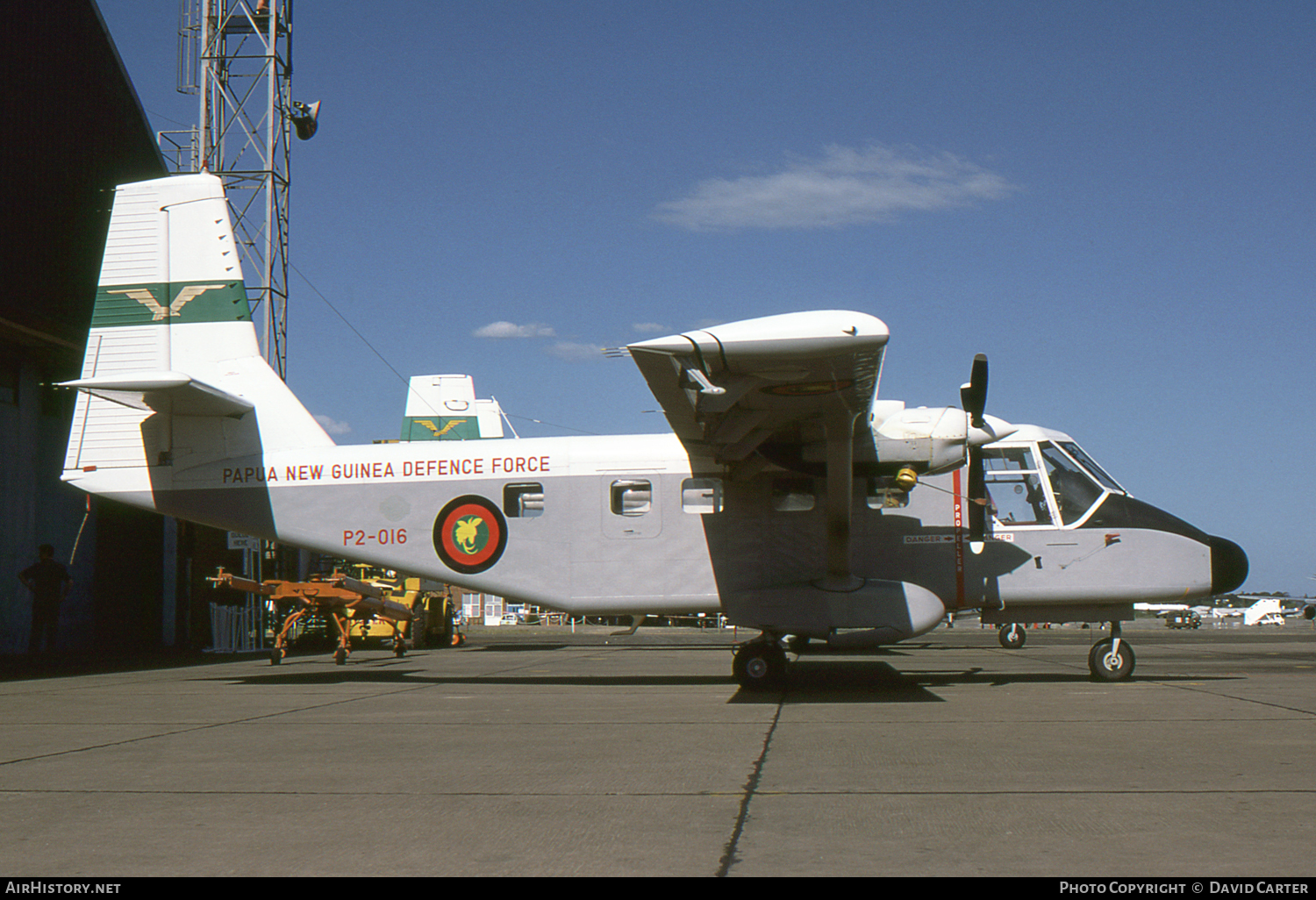Aircraft Photo of P2-016 | GAF N-22S Searchmaster B | Papua New Guinea - Air Force | AirHistory.net #619