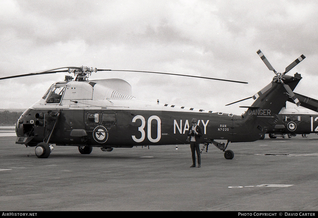 Aircraft Photo of N7-220 | Westland WS-58 Wessex HAS.31B | Australia - Navy | AirHistory.net #630