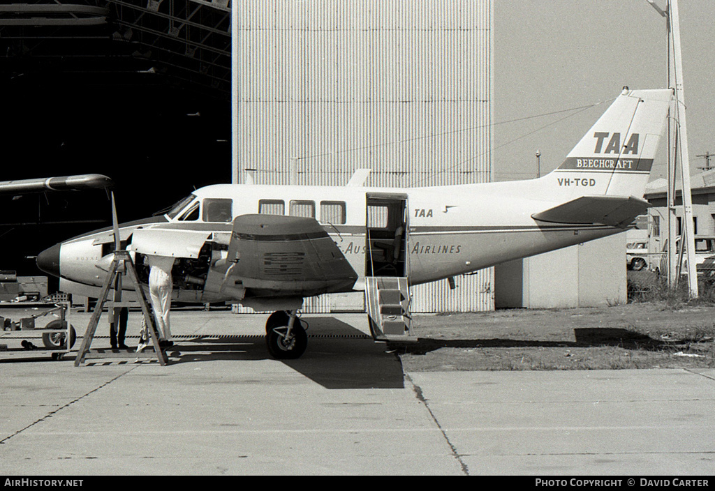 Aircraft Photo of VH-TGD | Beech 65-A80 Queen Air | Trans-Australia Airlines - TAA | AirHistory.net #639