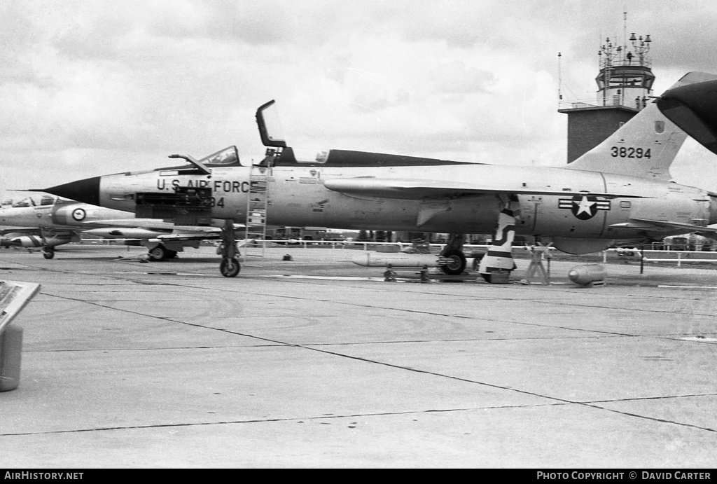 Aircraft Photo of 63-8294 / 38294 | Republic F-105F Thunderchief | USA - Air Force | AirHistory.net
