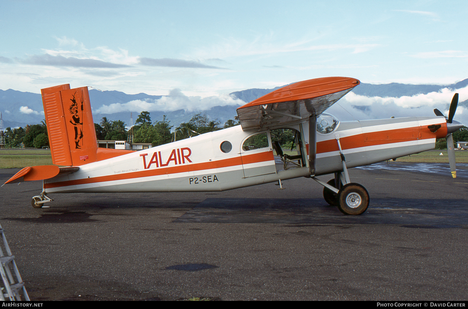 Aircraft Photo of P2-SEA | Pilatus PC-6/B-H2 Turbo Porter | Talair - Tourist Airline of Niugini | AirHistory.net