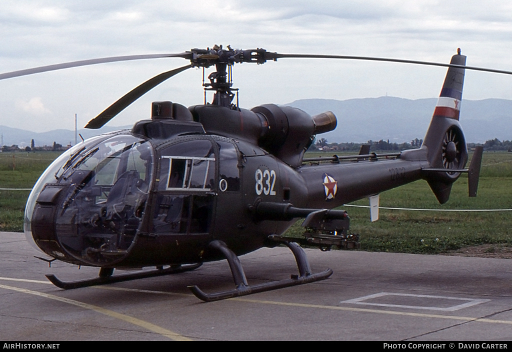 Aircraft Photo of 12832 | Aerospatiale SA-341H Partizan | Yugoslavia - Air Force | AirHistory.net #770