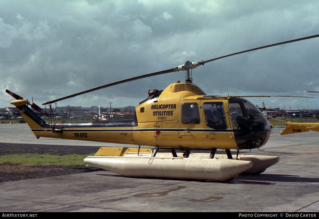 Aircraft Photo of VH-UTZ | Fairchild Hiller FH-1100 | Helicopter Utilities | AirHistory.net