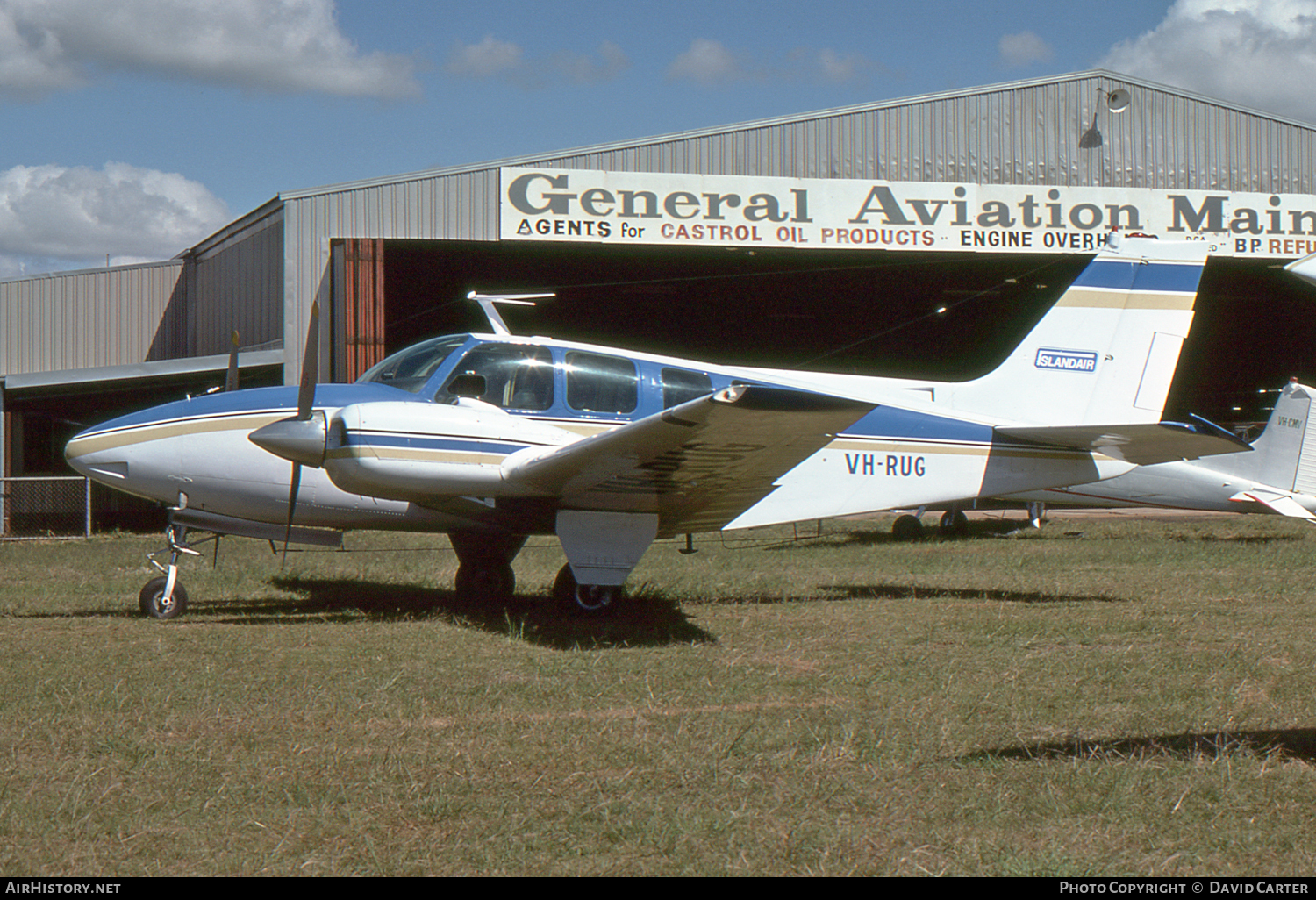 Aircraft Photo of VH-RUG | Beech 58 Baron | Island Air | AirHistory.net