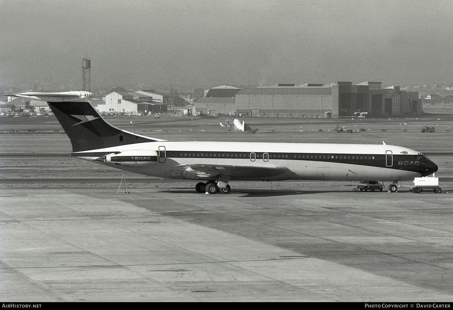 Aircraft Photo of G-ASGG | Vickers Super VC10 Srs1151 | BOAC | AirHistory.net