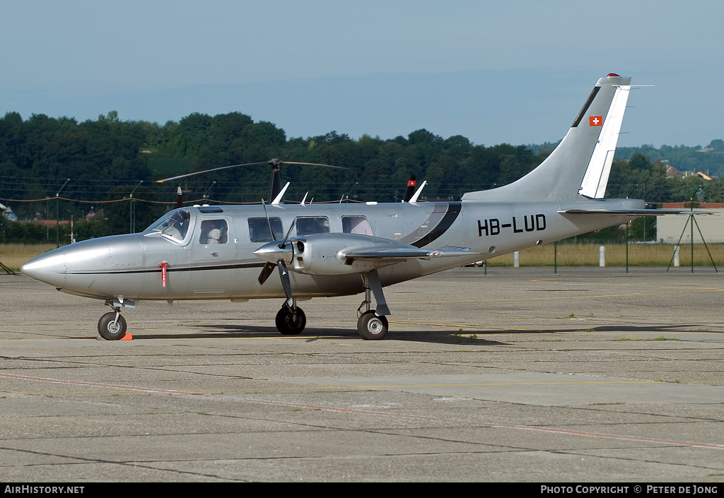 Aircraft Photo of HB-LUD | Piper PA-60-700P Aerostar | AirHistory.net #1031