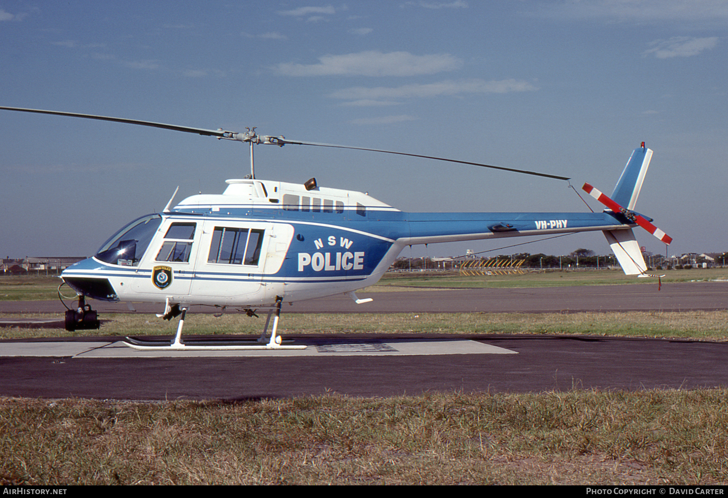 Aircraft Photo of VH-PHY | Bell 206B-3 JetRanger III | NSW Police | AirHistory.net