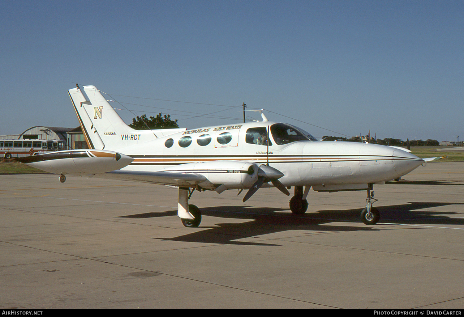 Aircraft Photo of VH-RCT | Cessna 402A | Nicholas Skyways | AirHistory.net