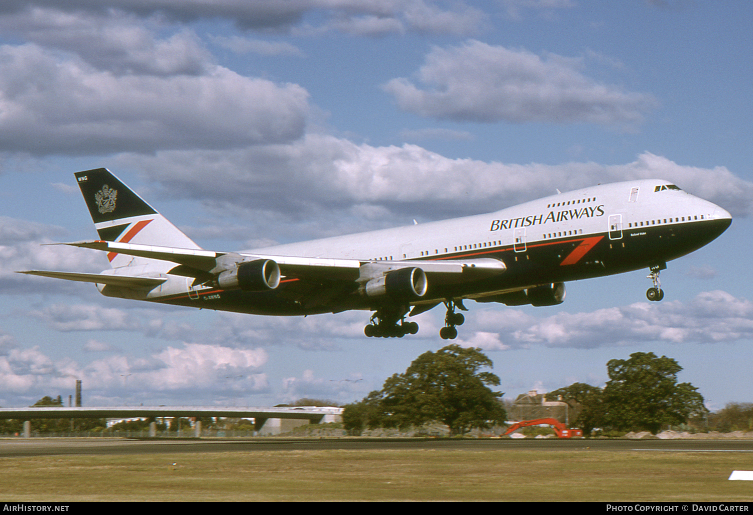 Aircraft Photo of G-AWNG | Boeing 747-136 | British Airways | AirHistory.net #1081