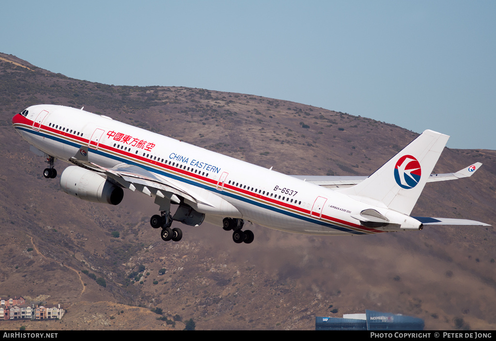 Aircraft Photo of B-6537 | Airbus A330-243 | China Eastern Airlines | AirHistory.net