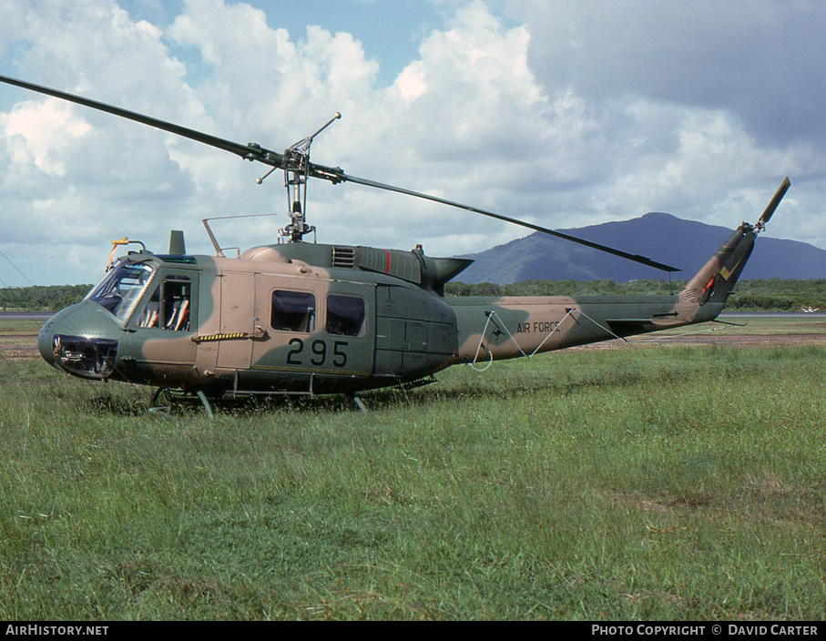 Aircraft Photo of A2-295 | Bell UH-1H Iroquois (205) | Australia - Army | AirHistory.net