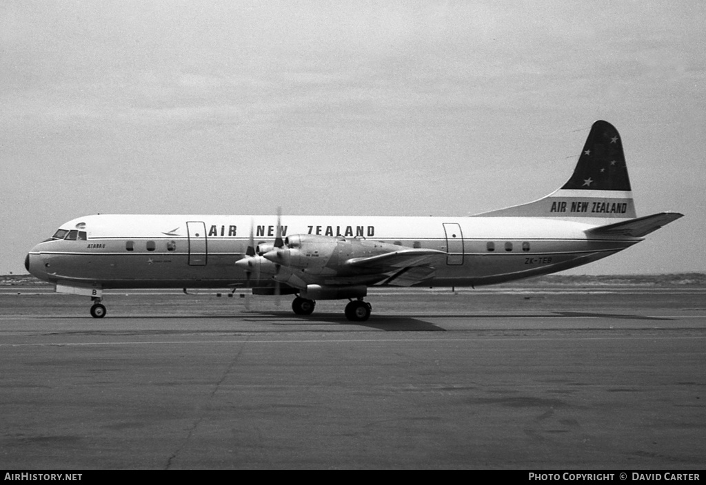 Aircraft Photo of ZK-TEB | Lockheed L-188C Electra | Air New Zealand | AirHistory.net #1144