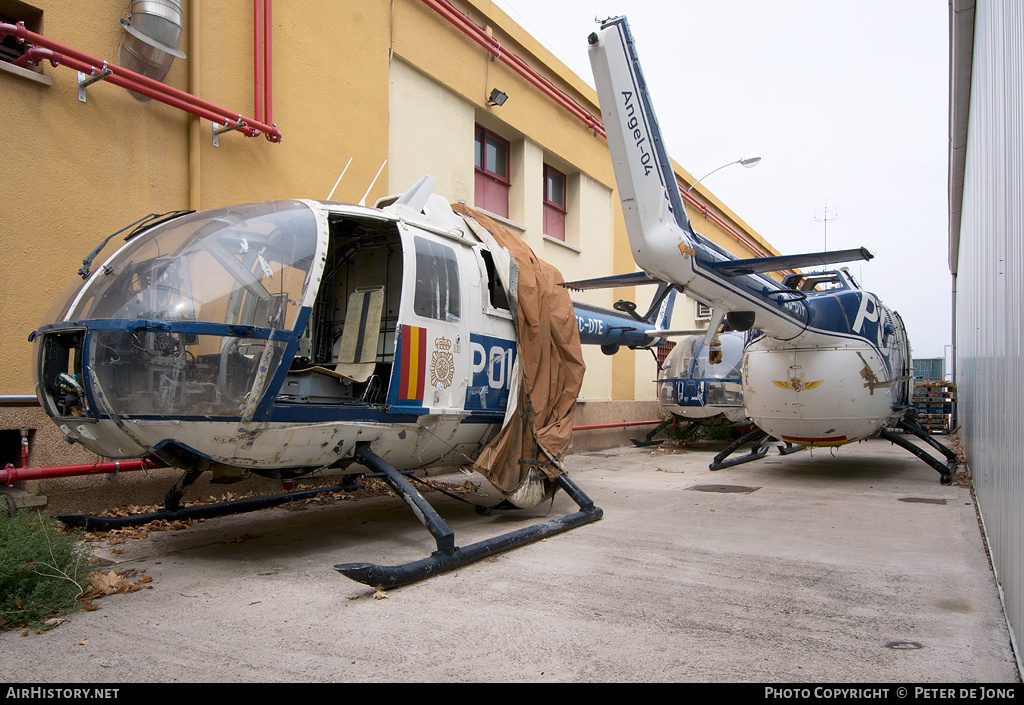 Aircraft Photo of EC-DTE | MBB BO-105CB | Policia | AirHistory.net