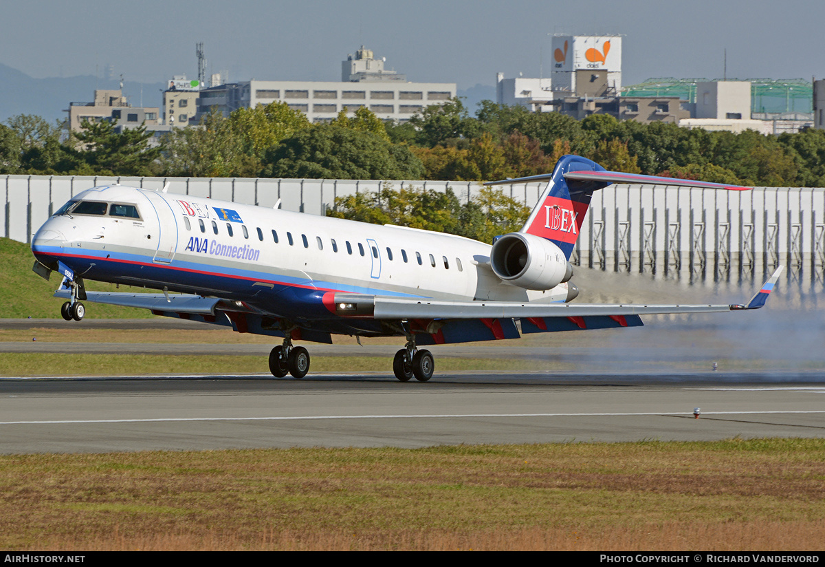 Aircraft Photo of JA05RJ | Bombardier CRJ-702ER NG (CL-600-2C10) | Ibex Airlines | AirHistory.net