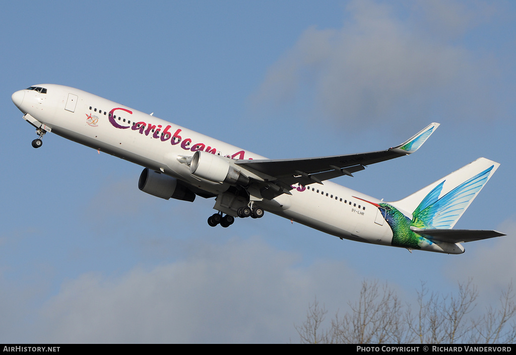 Aircraft Photo of 9Y-LHR | Boeing 767-316/ER | Caribbean Airlines | AirHistory.net