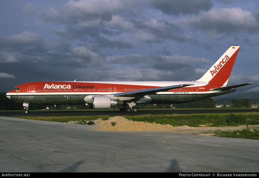 Aircraft Photo of N984AN | Boeing 767-383/ER | Avianca Colombia | AirHistory.net #1358