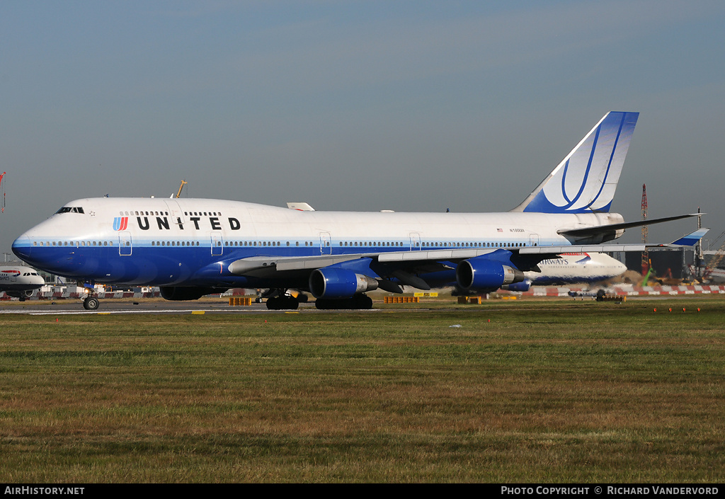 Aircraft Photo of N180UA | Boeing 747-422 | United Airlines | AirHistory.net