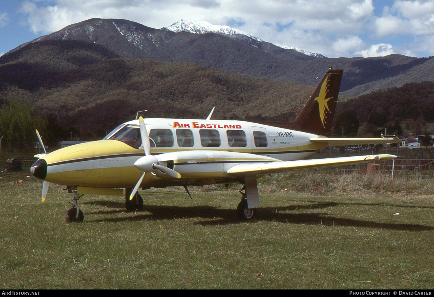 Aircraft Photo of VH-RNC | Piper PA-31-350 Navajo Chieftain | Air Eastland | AirHistory.net