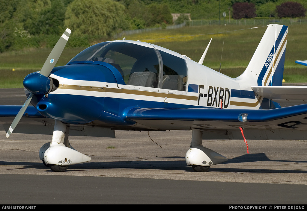 Aircraft Photo of F-BXRD | Robin DR-400-140B Major | AirHistory.net #1479