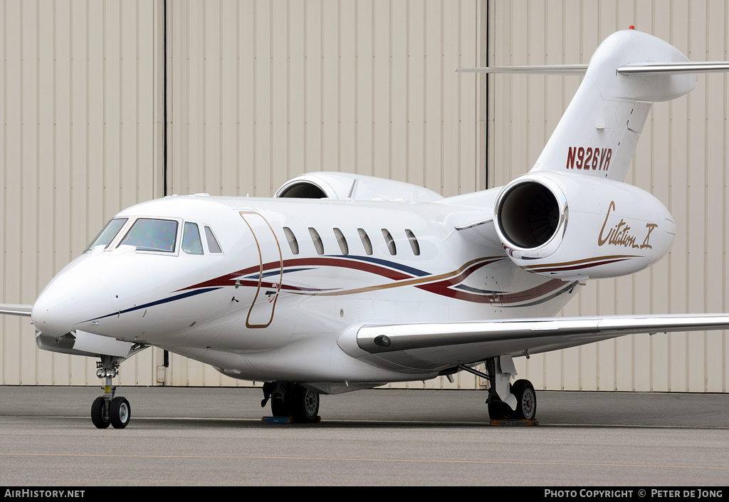 Aircraft Photo of N34VR | Cessna 750 Citation X | AirHistory.net #1483