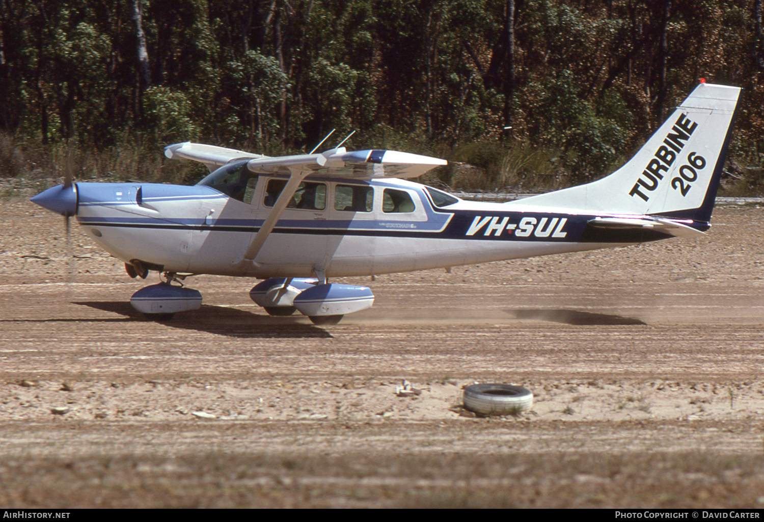 Aircraft Photo of VH-SUL | Cessna U206G/Soloy Turbine 206 | AirHistory.net #1517