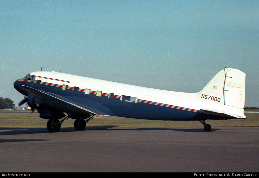 Aircraft Photo of N67000 | Douglas DC-3-G202A | AirHistory.net