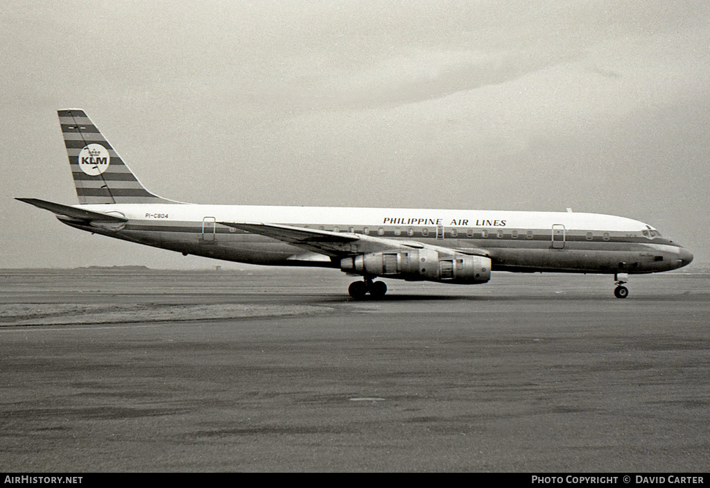 Aircraft Photo of PI-C804 | Douglas DC-8-53 | Philippine Airlines | AirHistory.net #1521