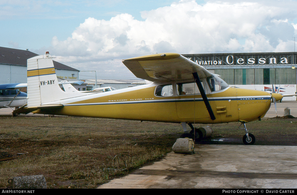 Aircraft Photo of VH-ABY | Cessna 172 | Singapore Flying Club | AirHistory.net #1588