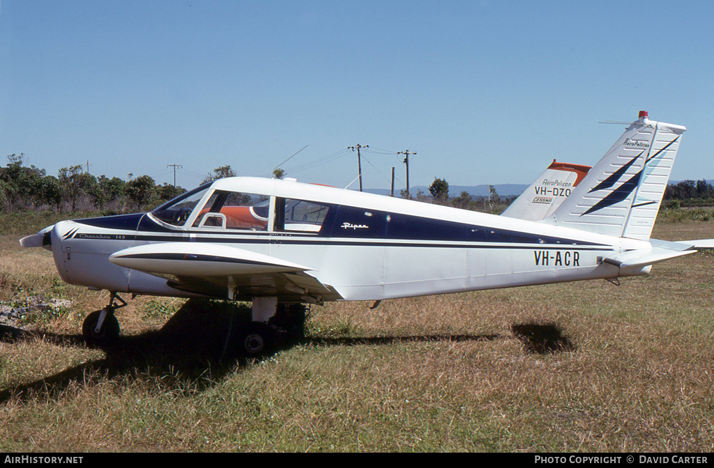 Aircraft Photo of VH-ACR | Piper PA-28-140 Cherokee | Aeropelican Air Services | AirHistory.net #1599