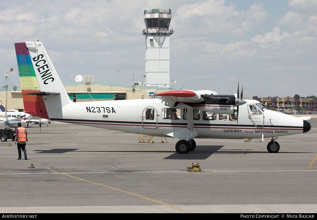 Aircraft Photo of N237SA | De Havilland Canada DHC-6-300 VistaLiner | Scenic Airlines | AirHistory.net