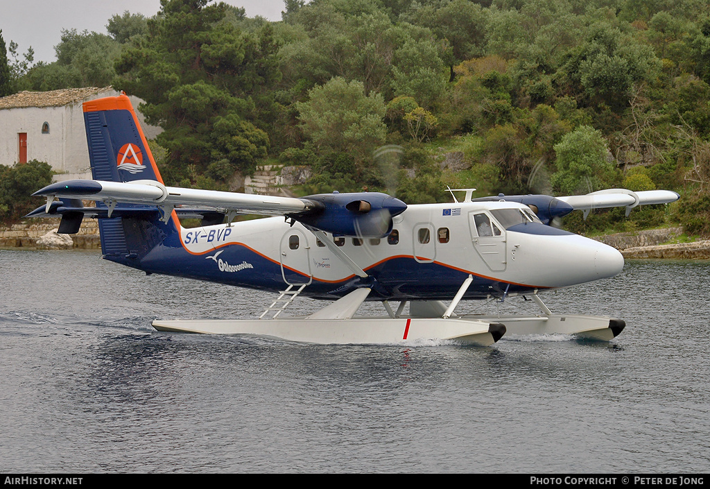 Aircraft Photo of SX-BVP | De Havilland Canada DHC-6-300 Twin Otter | AirSea Lines | AirHistory.net