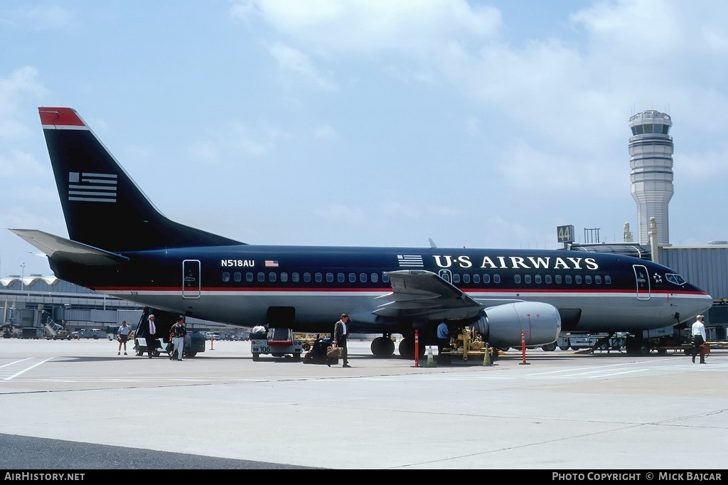 Aircraft Photo of N518AU | Boeing 737-3B7 | US Airways | AirHistory.net