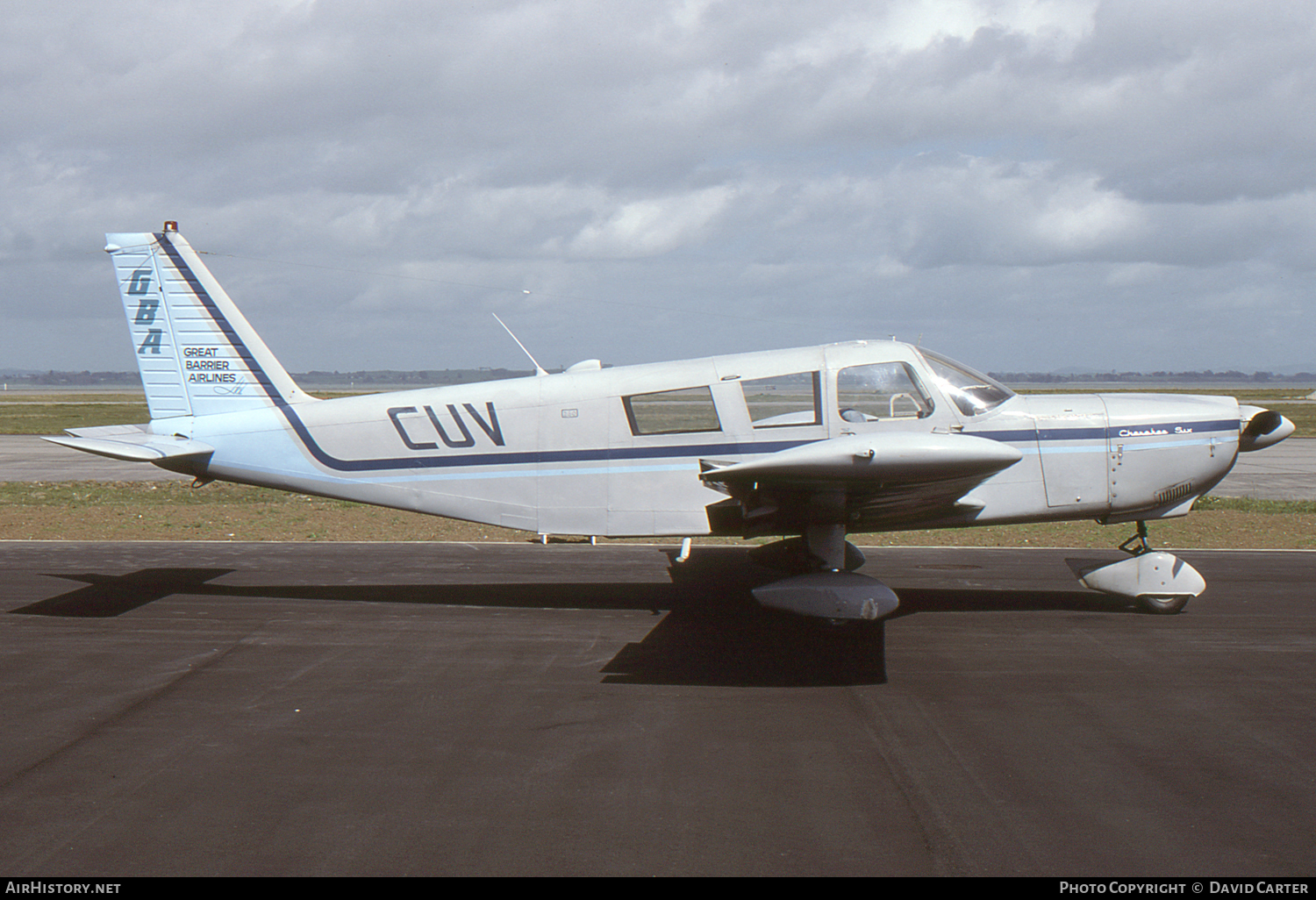 Aircraft Photo of ZK-CUV | Piper PA-32-260 Cherokee Six | Great Barrier Airlines - GBA | AirHistory.net