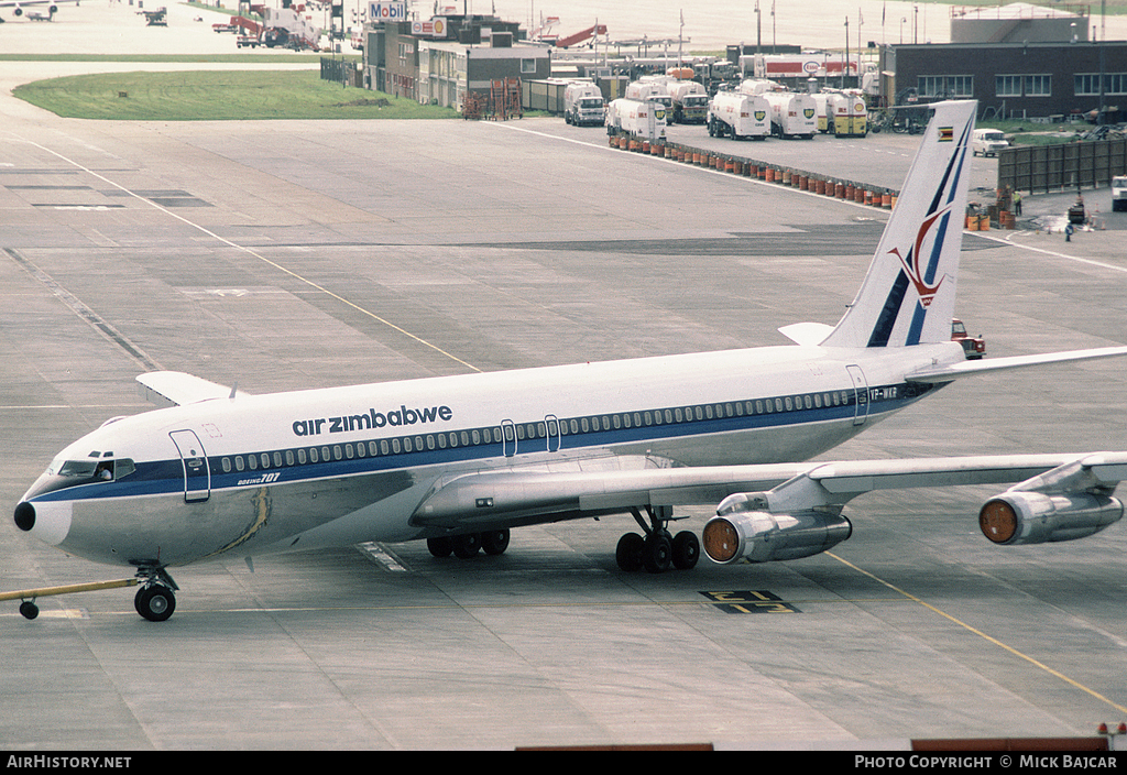 Aircraft Photo of VP-WKR | Boeing 707-330B | Air Zimbabwe | AirHistory.net #1727