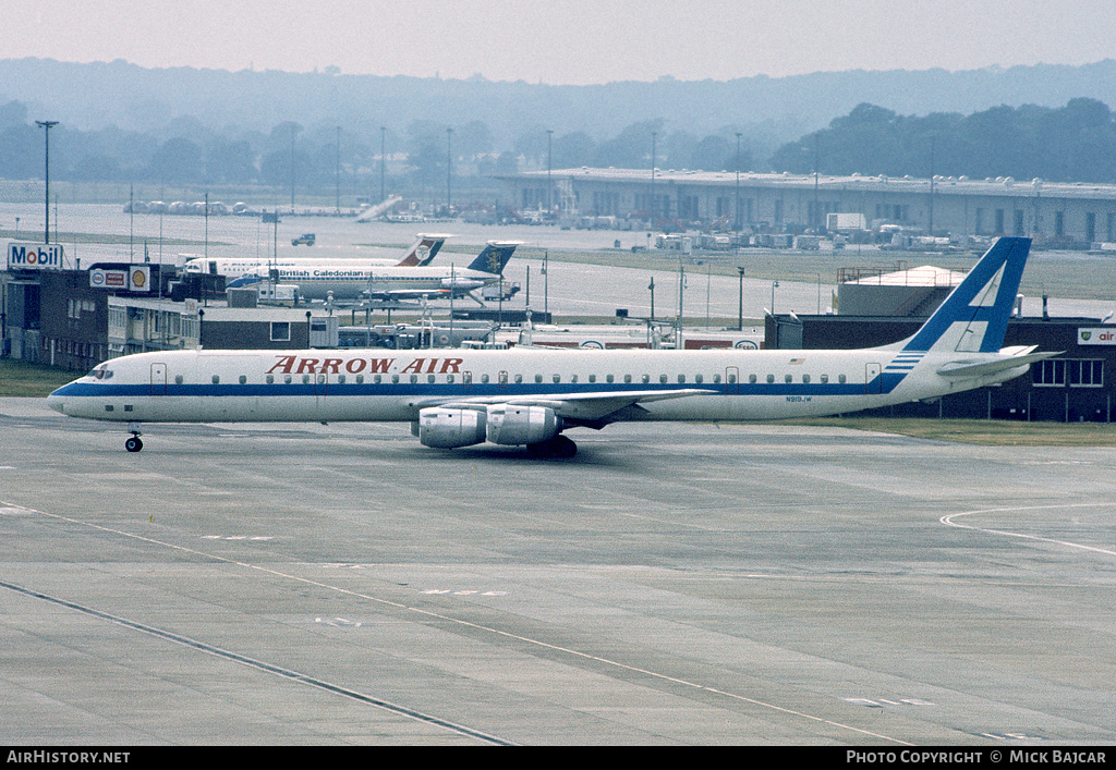 Aircraft Photo of N919JW | McDonnell Douglas DC-8-73CF | Arrow Air | AirHistory.net