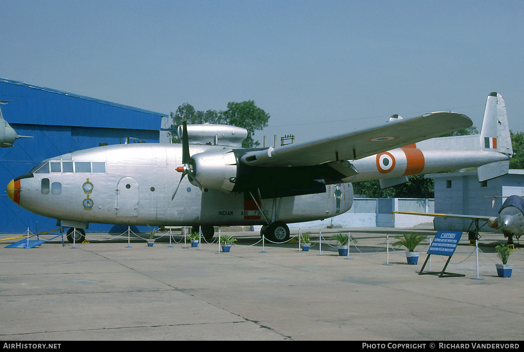 Aircraft Photo of IK450 | Fairchild C-119G Flying Boxcar | India - Air Force | AirHistory.net #1768