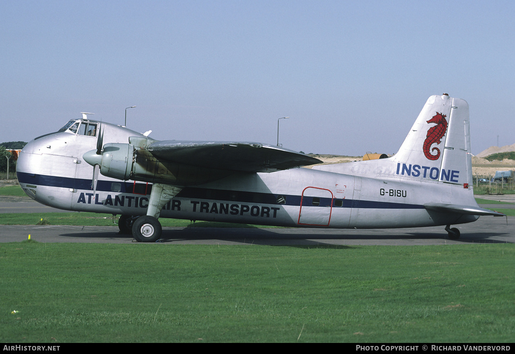 Aircraft Photo of G-BISU | Bristol 170 Freighter Mk31 | Atlantic Air Transport | AirHistory.net