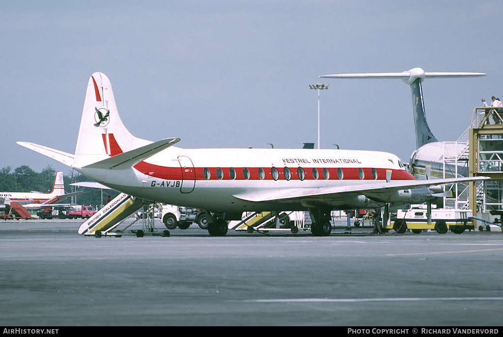Aircraft Photo of G-AVJB | Vickers 815 Viscount | Kestrel International Airways | AirHistory.net